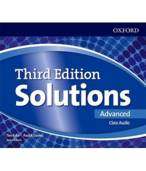 Диски Solutions Third Edition Advanced Class Audio CDs (4)
