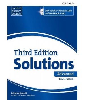 Книга для вчителя Solutions Third Edition Advanced Teacher's Pack