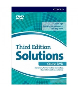 Диск Solutions 3rd Edition Elementary-Advanced DVD