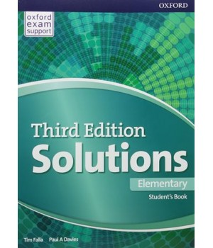 Підручник Solutions Third Edition Elementary Student's Book