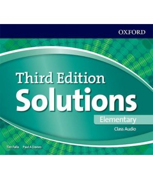Диски Solutions Third Edition Elementary Class Audio CDs (4)
