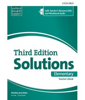 Книга для вчителя Solutions Third Edition Elementary Teacher's Pack