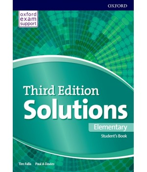 Solutions Third Edition Elementary Student's Book
