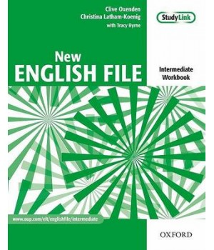 Рабочая тетрадь New English File Intermediate: Workbook with Answer Booklet and MultiROM Pack