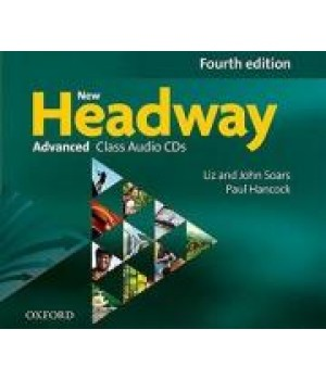 Диски New Headway (4th Edition) Advanced Class Audio CDs (4)