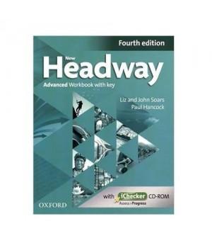 Робочий зошит New Headway (4th Edition) Advanced Workbook with Key & iChecker CD-ROM