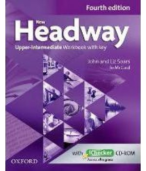 Робочий зошит New Headway (4th Edition) Upper-Intermediate Workbook with Key & iChecker CD-ROM