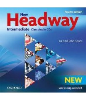 Диски New Headway (4th Edition) Intermediate Class Audio CDs (3)