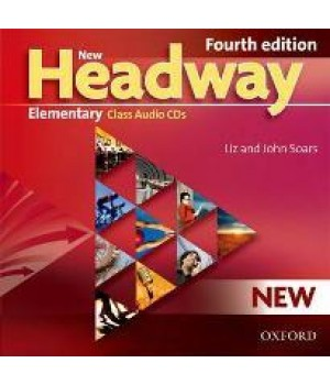 Диски New Headway (4th Edition) Elementary Class Audio CDs (3)