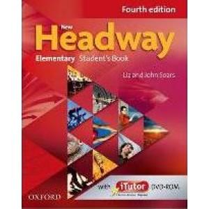 Підручник New Headway (4th Edition) Elementary Student's Book & iTutor DVD-ROM