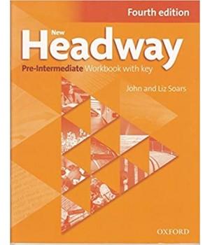 Робочий зошит New Headway (4th Edition) Pre-Intermediate Workbook with Key