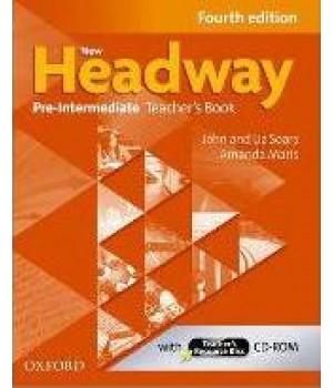 Книга для вчителя New Headway (4th Edition) Pre-Intermediate Teacher's Book & Resource Disk Pack