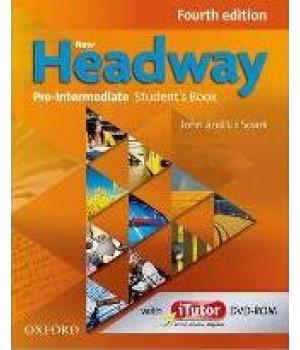 Підручник New Headway (4th Edition) Pre-Intermediate Student's Book & iTutor DVD-ROM