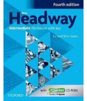 Робочий зошит New Headway (4th Edition) Intermediate Workbook with Key & iChecker CD-ROM