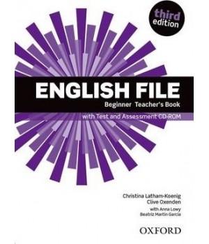 Книга для вчителя English File 3rd Edition Beginner Teacher's Book with Test & Assessment CD-ROM