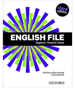 Підручник English File 3rd Edition Beginner Student's Book