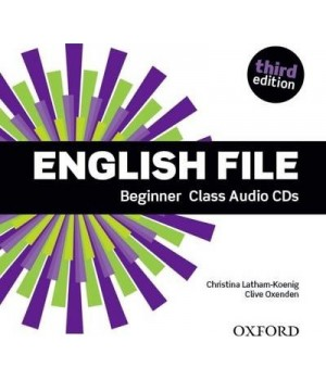 Диски English File 3rd Edition Beginner Class Audio CDs (4)