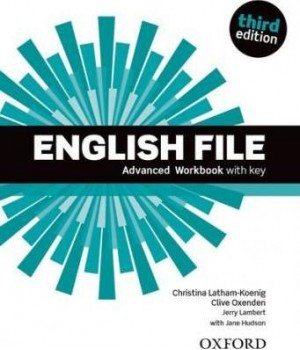 Робочий зошит English File 3rd Edition Advanced Workbook with Key
