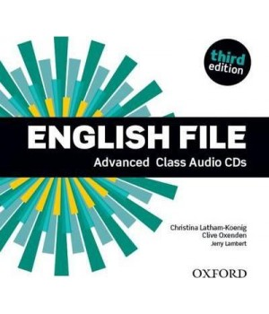 Диски English File 3rd Edition Advanced Class Audio CDs (5)