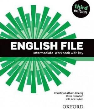 Робочий зошит English File 3rd Edition Intermediate Workbook with Key