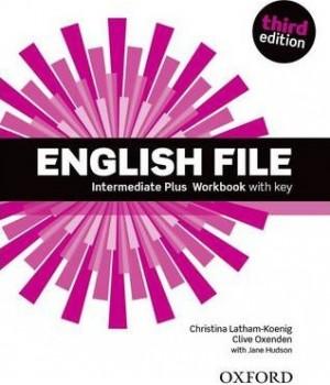 Робочий зошит English File 3rd Edition Intermediate Plus Workbook with Key