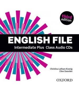 Диски English File 3rd Edition Intermediate Plus Class Audio CDs (5)