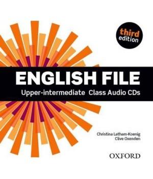 Диски English File 3rd Edition Upper-Intermediate Class Audio CDs (5)