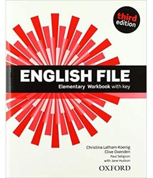 Робочий зошит English File 3rd Edition Elementary Workbook