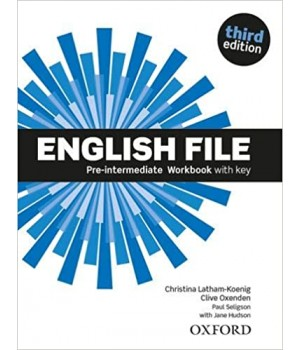 Робочий зошит English File 3rd Edition Pre-Intermediate Workbook