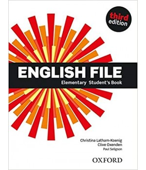 Підручник English File 3rd Edition Elementary Student's Book
