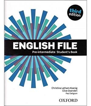 Підручник English File 3rd Edition Pre-Intermediate Student's Book