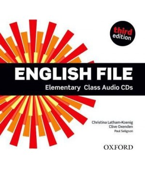 Диски English File 3rd Edition Elementary Class Audio CDs (5)