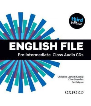 Диски English File 3rd Edition Pre-Intermediate Class Audio CDs (5)