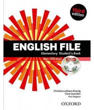 Учебник English File 3rd Edition Elementary Student's Book