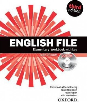 English File 3rd Edition Elementary Workbook iChecker CD-ROM & Answer Booklet
