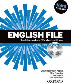 Робочий зошит English File 3rd Edition Pre-Intermediate Workbook