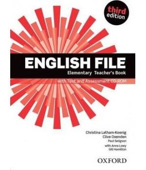 Книга для вчителя English File 3rd Edition Elementary Teacher's Book & CD-ROM