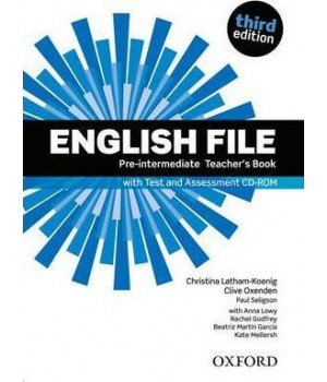 Книга для вчителя English File 3rd Edition Pre-Intermediate Teacher's Book with Test & Assessment CD-ROM