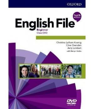 Диск English File 4th Edition Beginner DVD