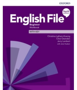 Робочий зошит English File 4th Edition Beginner Workbook with key