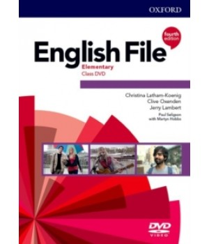 Диск English File 4th Edition Elementary DVD
