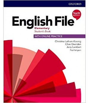 Підручник English File 4th Edition Elementary Student's Book with Online Practice