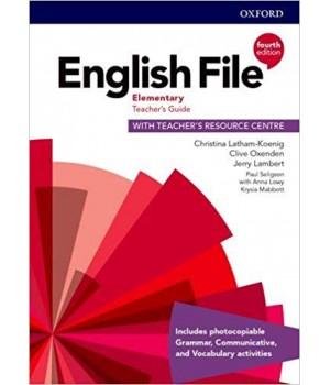 Книга для вчителя English File 4th Edition Elementary Teacher's Guide with Teacher's Resource Centre