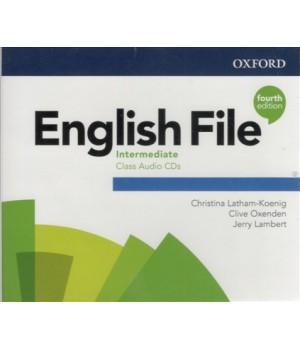 Диски English File 4th Edition Intermediate Class Audio CDs (5)
