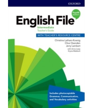 Книга для учителя English File 4th Edition Intermediate Teacher's Guide with Teacher's Resource Centre
