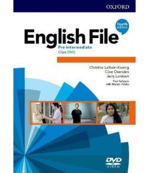 Диск English File 4th Edition Pre-Intermediate DVD