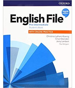 Підручник English File 4th Edition Pre-Intermediate Student's Book with Online Practice