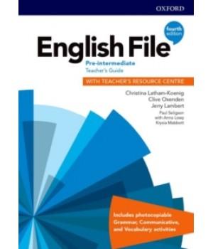 Книга для вчителя English File 4th Edition Pre-Intermediate Teacher's Guide with Teacher's Resource Centre