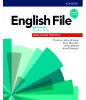 Підручник English File 4th Edition Advanced Student's Book with Online Practice
