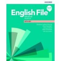 Робочий зошит English File 4th Edition Advanced Workbook with key